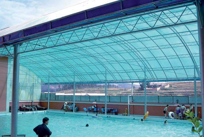 Uv Protected Lexan Modular Polycarbonate Panels For